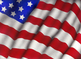 Airbrushed American Flag by aisemicr