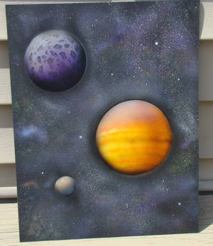 Outer Space Airbrushed
