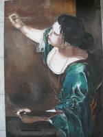 Artemisia Gentileschi by aisemicr