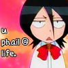 U Phail at Life - Rukia icon by ni-chii