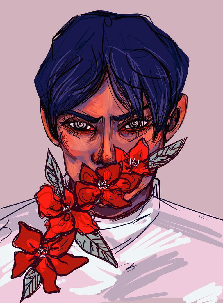 Flower Breather by Ospreyghost13
