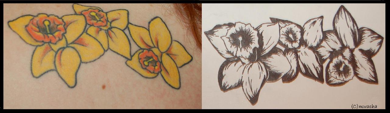Daffodil Tattoo | Flower Tattoo
