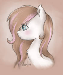 My Pony OC's portait 1 by Vanelia27