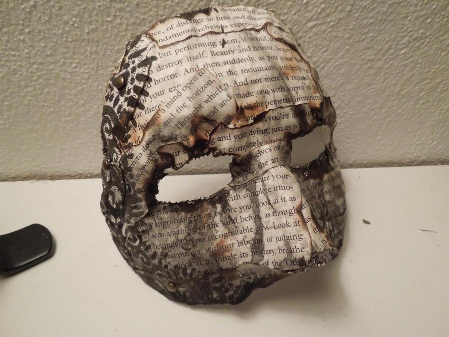 Burned Book Mask 5 by raena-nayrue