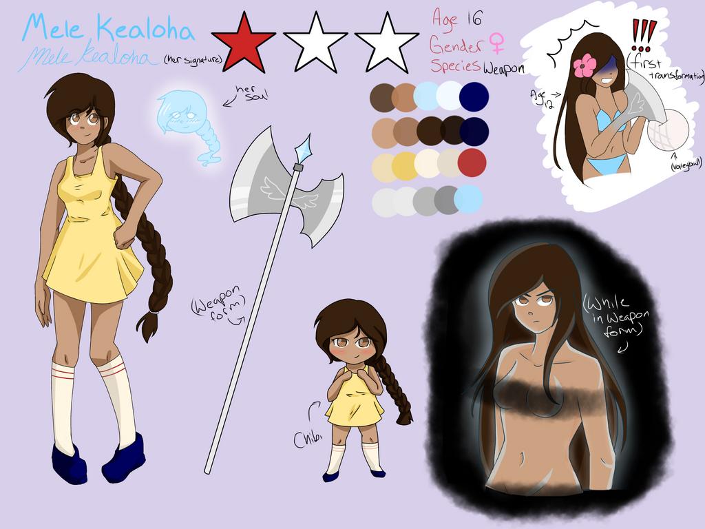 Mele Kealoha Soul Eater OC Ref