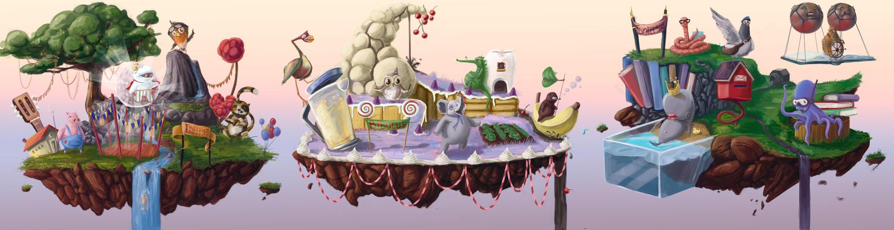 Fairy Tale Isles by Breaky