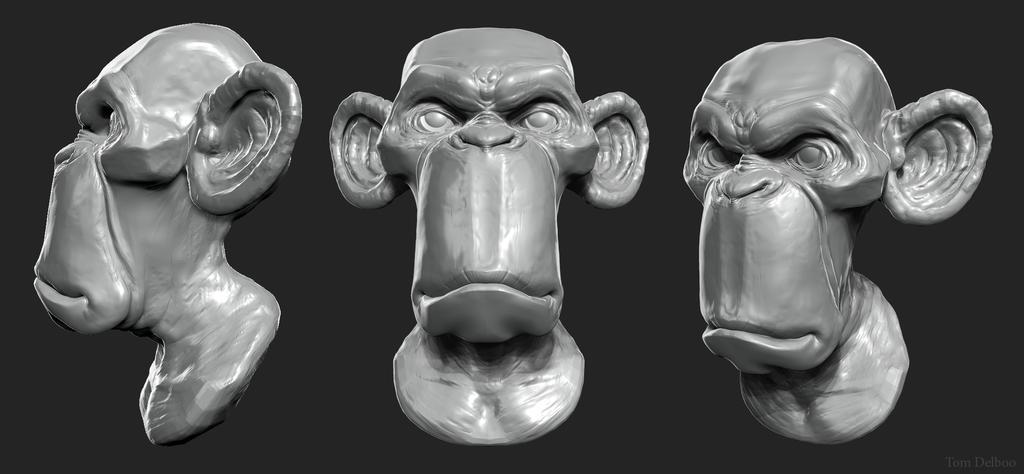 speedsculpt Monkey by Breaky