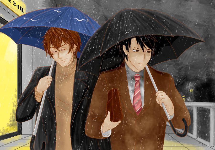 Yokozawa Takafumi no Baai [novel scene] by axelni