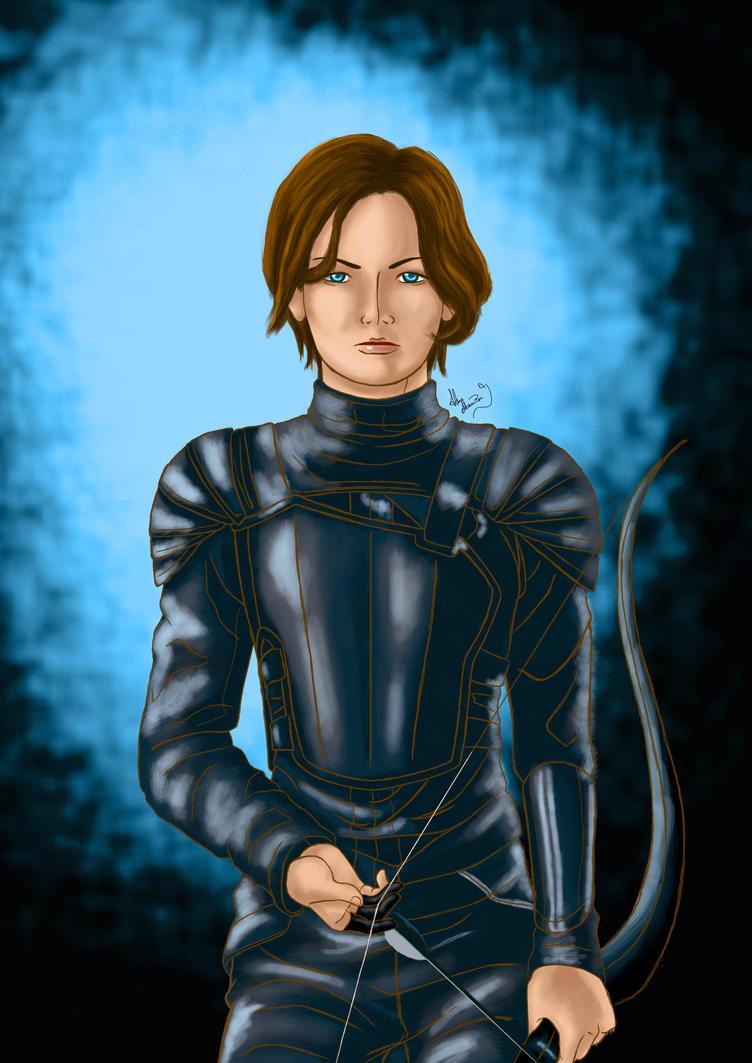 Katniss by axelni