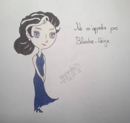 Blanche par @dansepanda