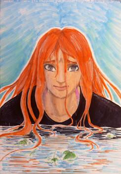 stella dans l'eau par  @Loutelc