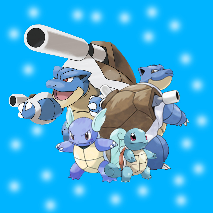 MEGA BLASTOISE. by Thepsyduck on DeviantArt
