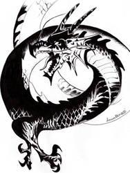 Black Dragon by Femke92