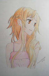 Asuna - Sword Art Online by Femke92