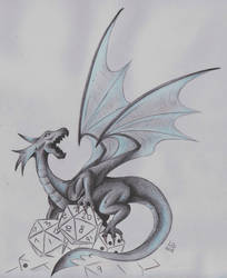 Dragon and Dices by Femke92