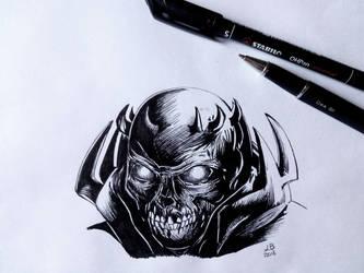 Skull Night - Berserk by Femke92