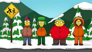 South Park-Simpsons now!