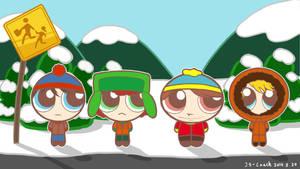 South Park-Powerpuff Boys Now!