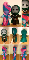 Little Lorin and Little Trimith plushies by Sinsitra
