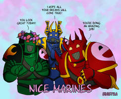 Nice Marines by Sinsitra