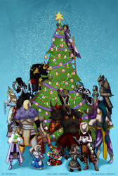 [GW2] Merry Wintersday from The Avalanche! by Sinsitra
