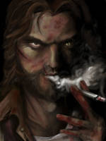 Bigby Wolf- Telltale Games by iaterocks