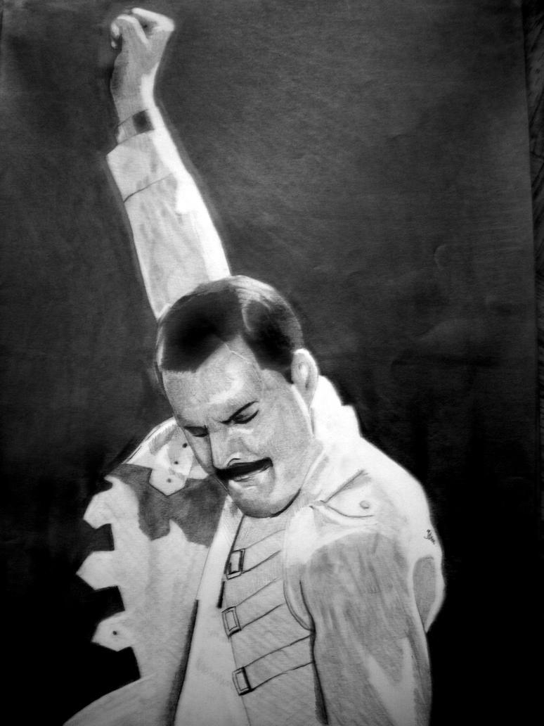 Freddie Mercury by PolishPsycho on DeviantArt