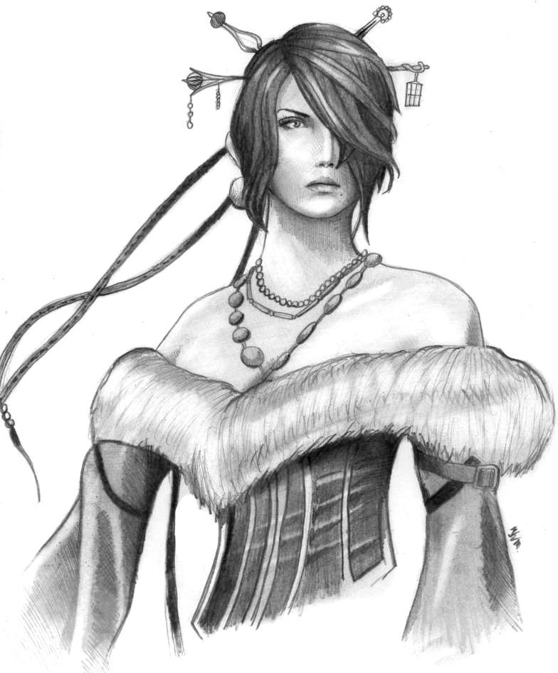 Lulu - Final Fantasy X by PolishPsycho