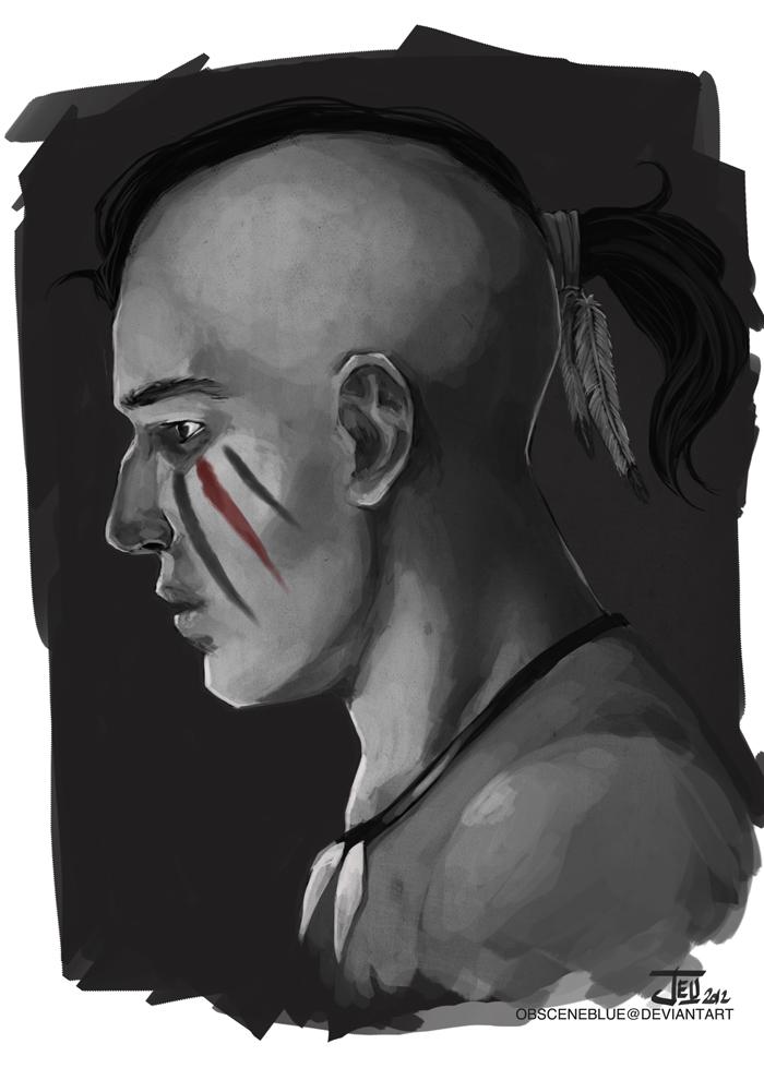 -War Paint- by obsceneblue