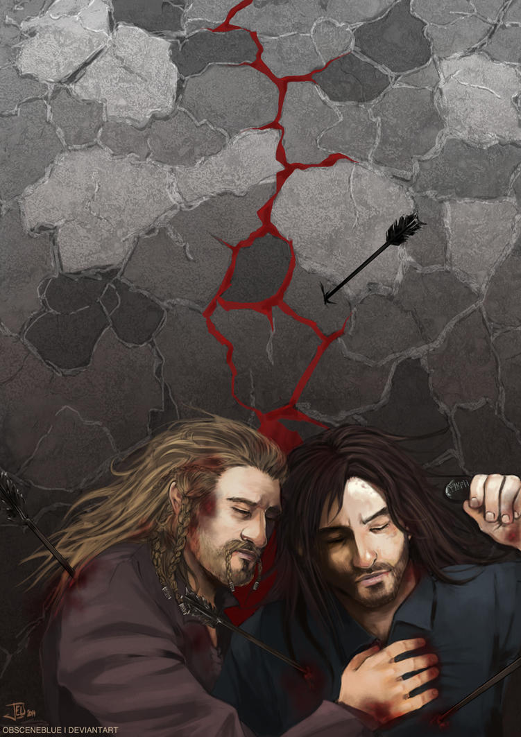 -Fili and Kili- by obsceneblue