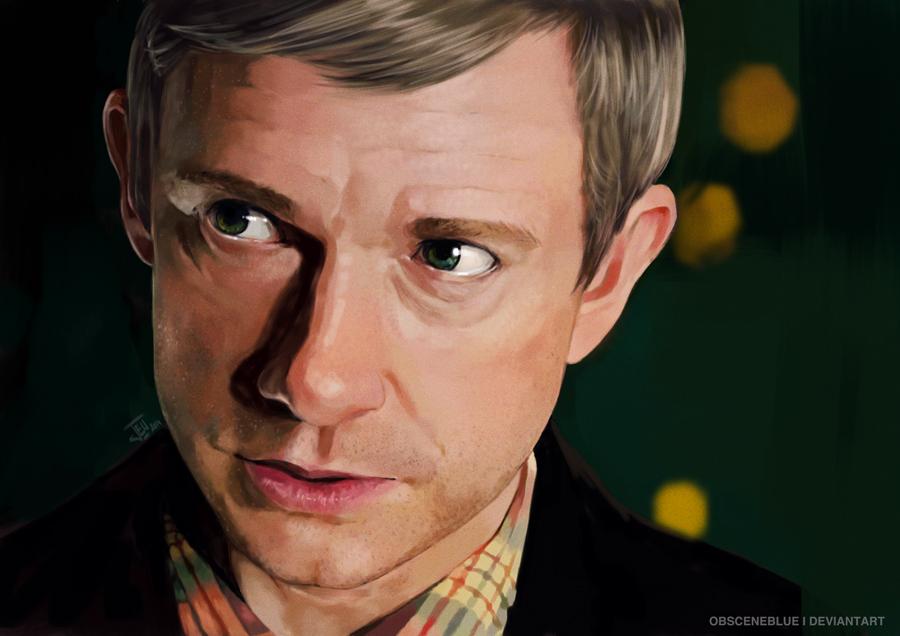 -John Watson- by obsceneblue