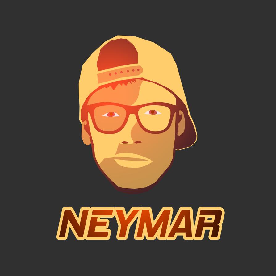 Neymar Logo By FanBarcelony