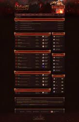 Nebris - Board RPG Game Design