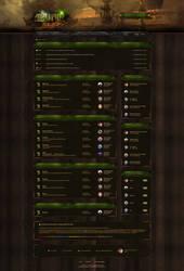 Alunir - Board RPG Game Design