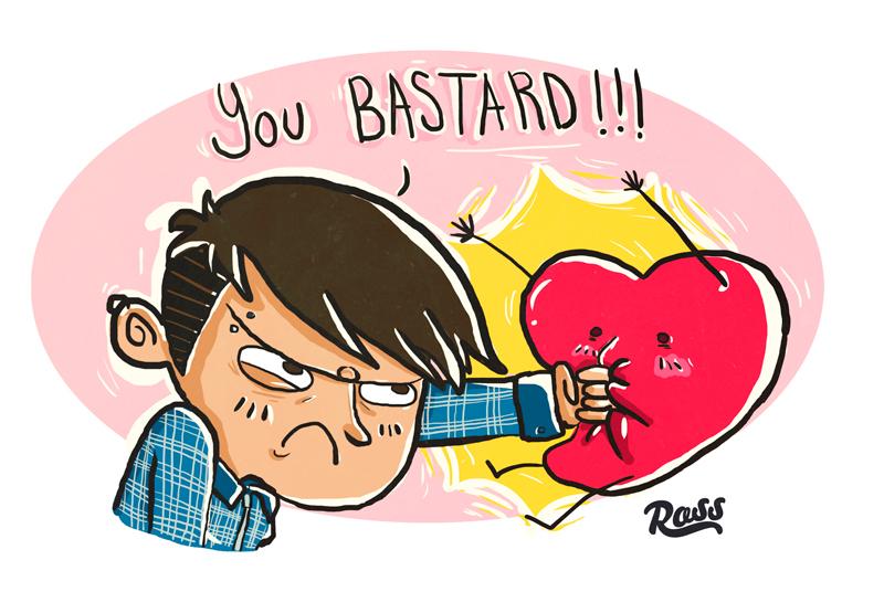 YOU BASTARD by ross-marisin