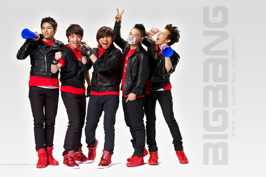 wallpaper bigbang. BigBang Shouting Wallpaper 3