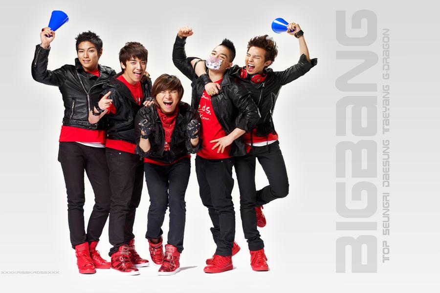 big bang wallpaper. BigBang Shouting Wallpaper 6