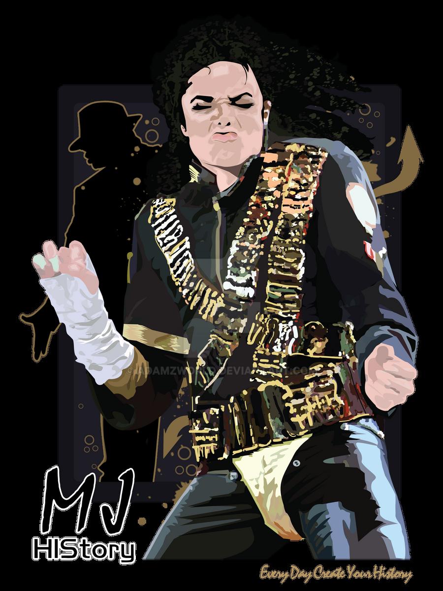 Shirt design history -  Michael Jackson History T Shirt Design By Adamzworld