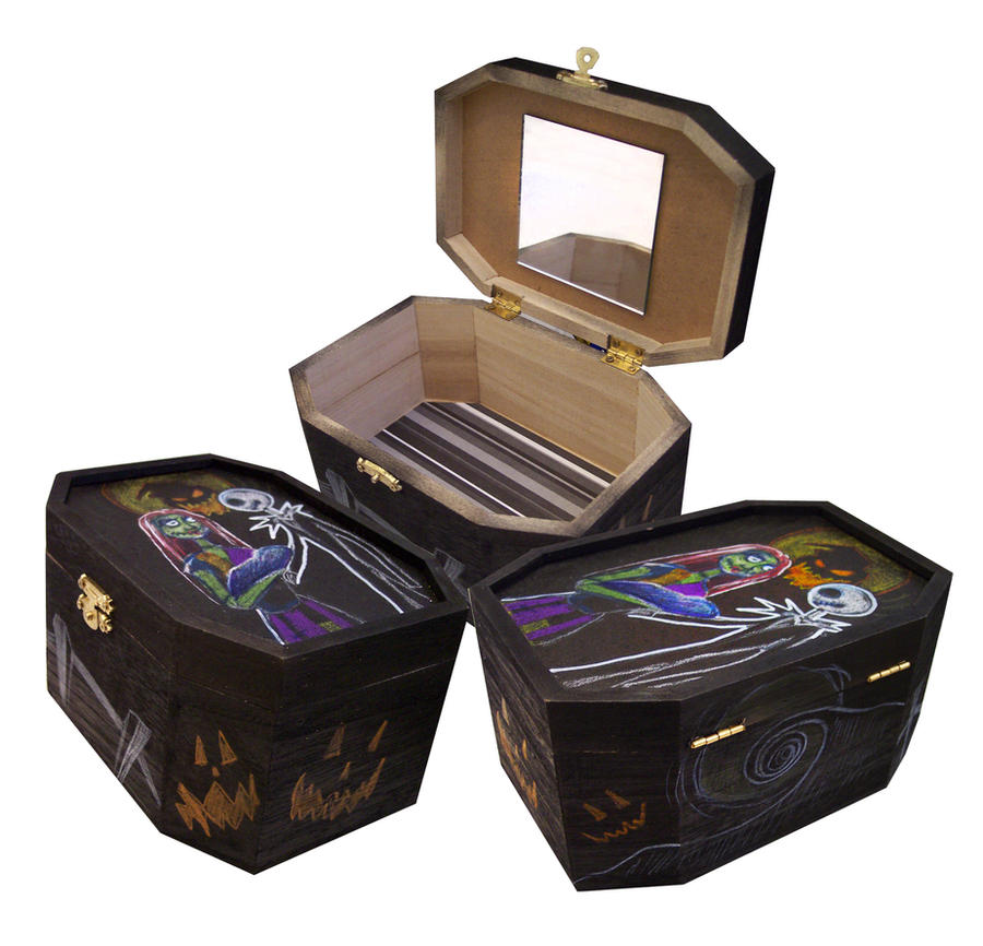 ... To Get Information about The Nightmare Before Christmas Jewelry Box