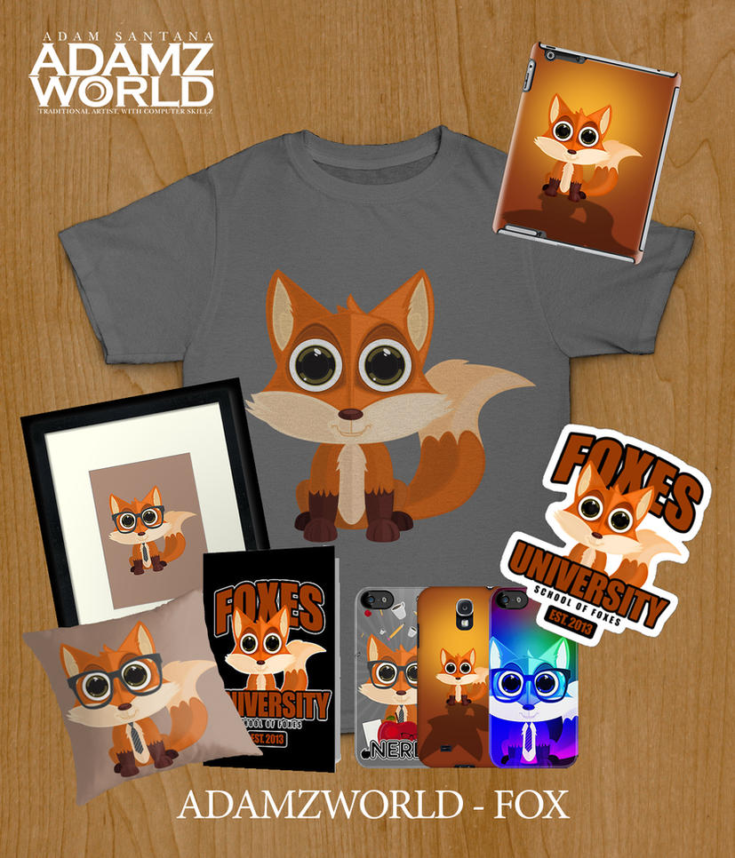 Adamzworld - Fox by Adamzworld