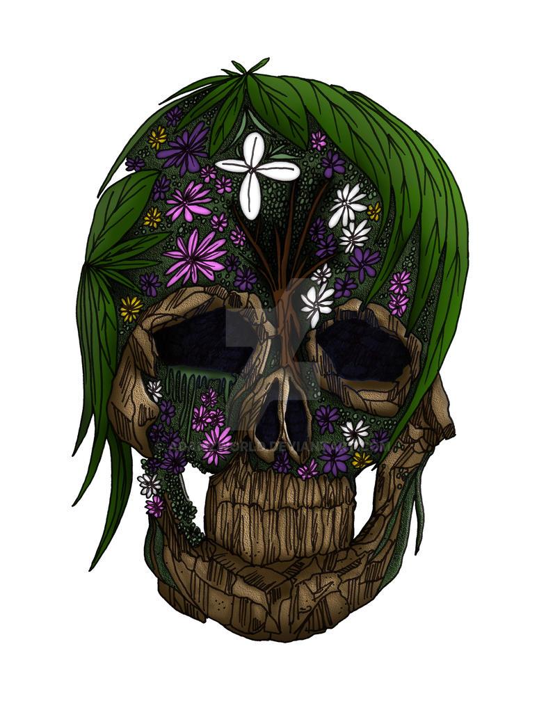 Plant Skull by Adamzworld