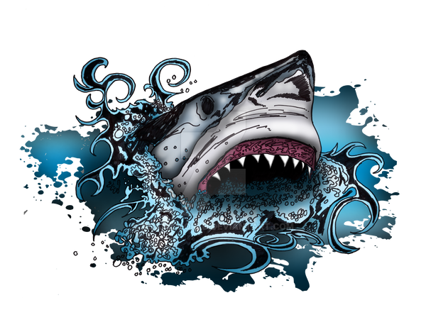 Shark Attack by Adamzworld