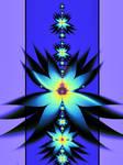 Mandelbrot flower