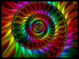 Rainbow Petals by pinkal09