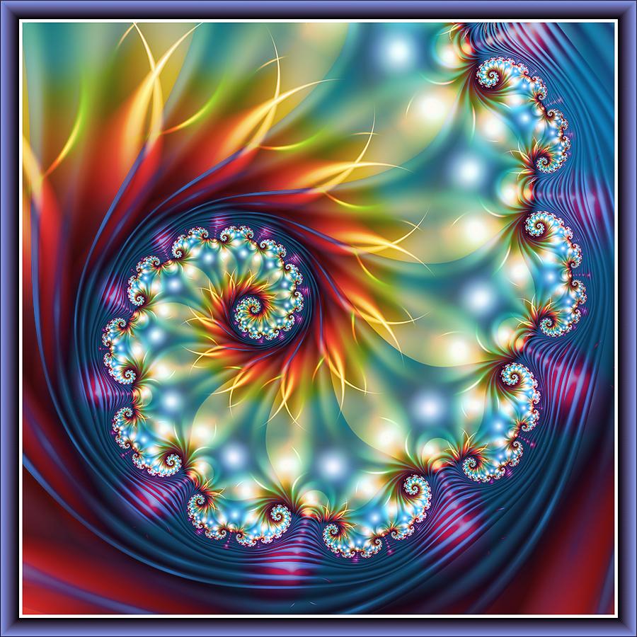 Saffron Swirl by pinkal09