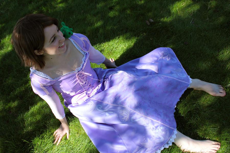 Tangled: Brunette Rapunzel by ShannonAlise