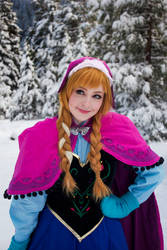 Frozen: Anna by ShannonAlise