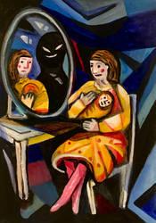 Evil Mirror by Davidlexande11