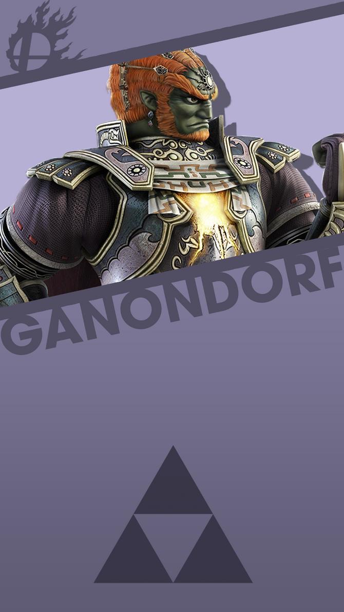 Ganondorf Smash Bros Phone Wallpaper By MrThatKidAlex24