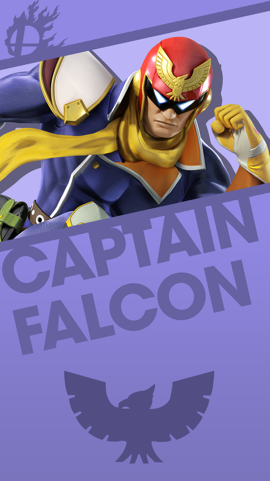 captain falcon smash bros. phone wallpapermrthatkidalex24 on